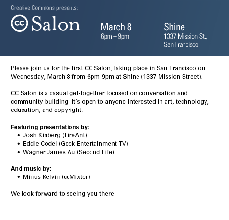CC salon invite