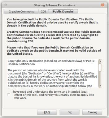 OpenOfficeOrg Addin - Creative Commons