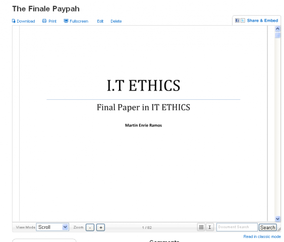 ethics paper final bu486 Start studying introduction to ethics: final exam study guide learn vocabulary, terms, and more with flashcards, games, and other study tools.
